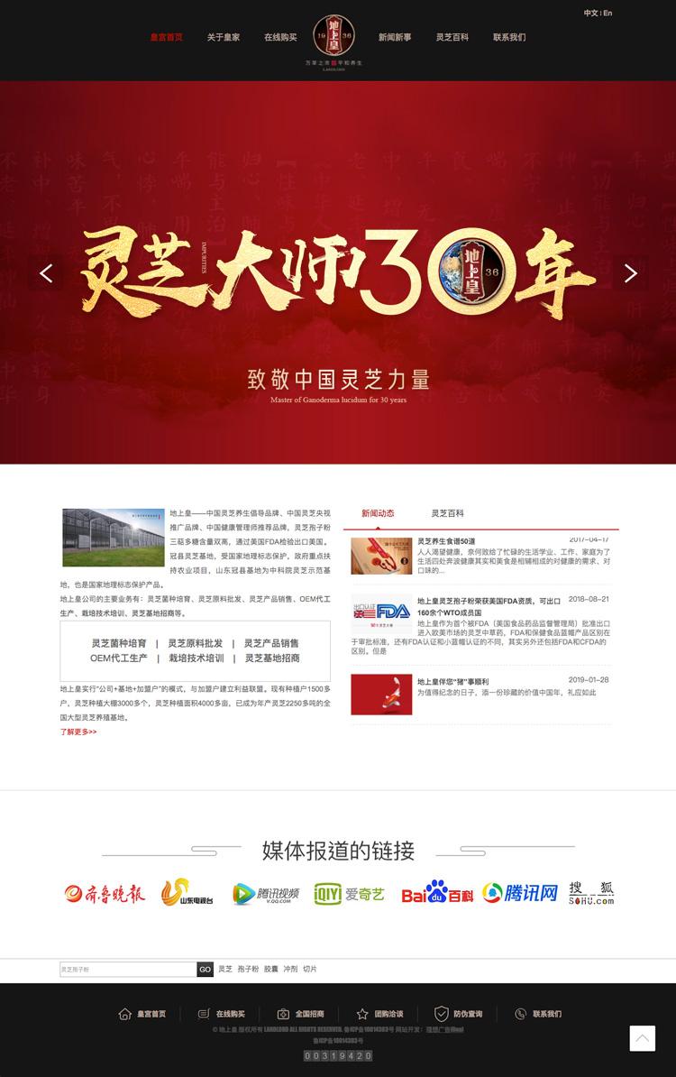 聊城地上皇灵芝官方网站淘宝网店设计制作开发-理想广告设计公司1.jpg